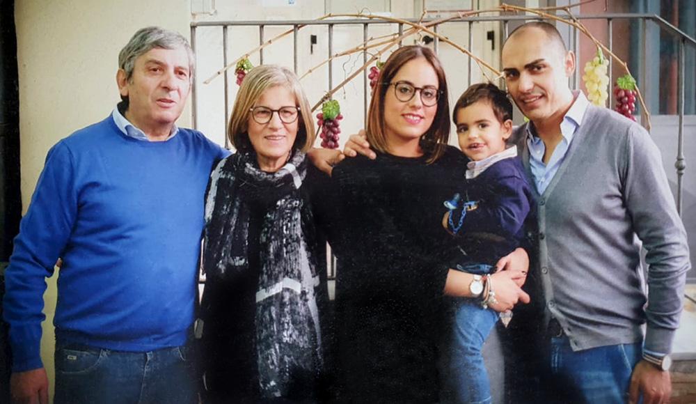 Ritratto Famiglia Michele Romano Vini